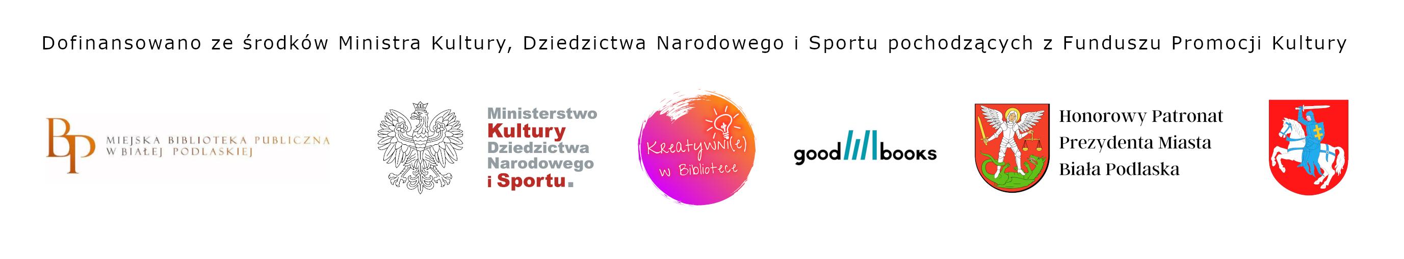 Logotypy organizatorów i partnerów projektu.
